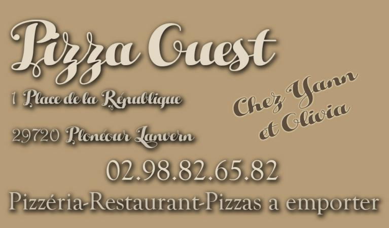 Bienvenue Sur Le Site De Pizza Ouest